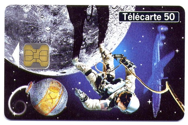 Télécarte ''La Conquête Spatiale'' / France 2000 Espace11