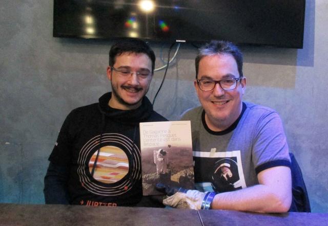 7 avril 2018 - Séance de dédicaces des auteurs Pierre-François Mouriaux et Eric Bottlaender à Paris (75) Img_0113