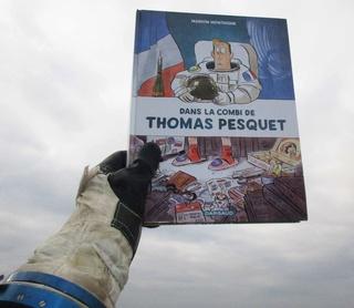 [BD] Dans la combi de Thomas Pesquet par Marion Montaigne Img_0210