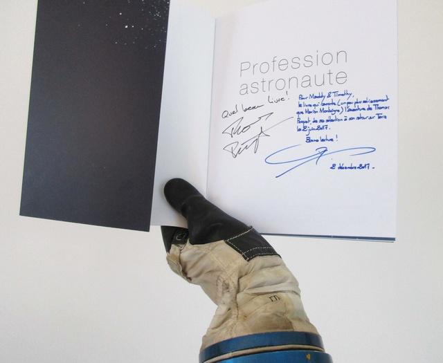 [Livre] Profession astronaute de Thomas Marlier et Pierre-François Mouriaux Img_0711
