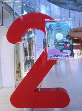 Pièce de 10 euros argent Mickey 2018 - ''Compte à rebours'' avec Kourou et Ariane 5 Img_1218