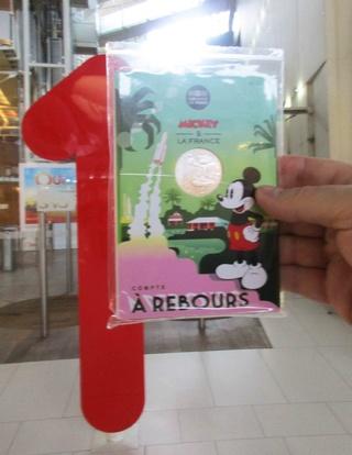 Pièce de 10 euros argent Mickey 2018 - ''Compte à rebours'' avec Kourou et Ariane 5 Img_1220