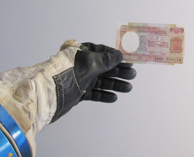 Inde - Billet de 2 roupies Satellite Arabyatha / 1985 Inde_b12