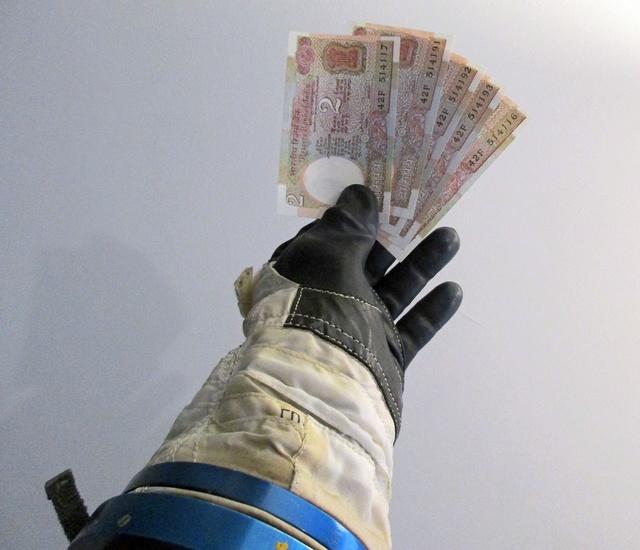 Inde - Billet de 2 roupies Satellite Arabyatha / 1985 Inde_b15