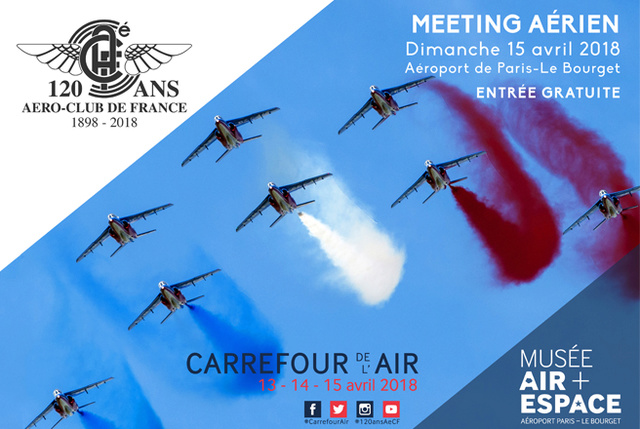 Meeting aérien des 120 ans de l'Aéroc-Club de France au Bourget - 15 avril 2018 Meetin10