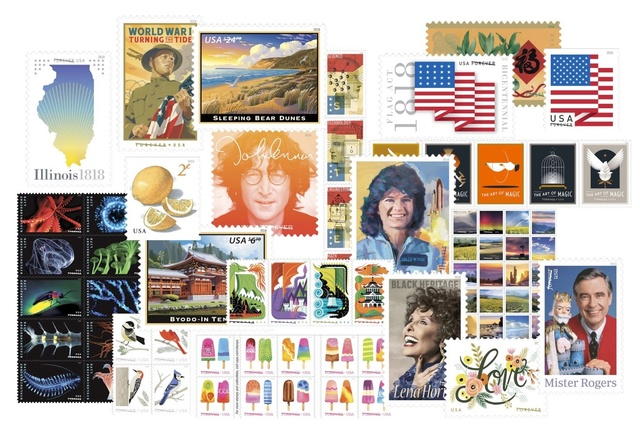 La poste américaine va émettre en 2018 un timbre pour commémorer l'astronaute Sally Ride (1951-2012) Pr17_010