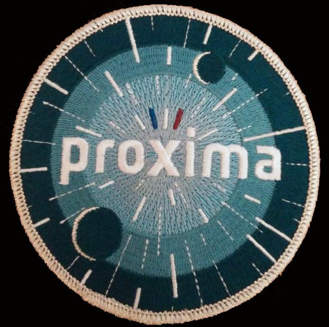 Patch Proxima - Vol de Thomas Pesquet Proxim10