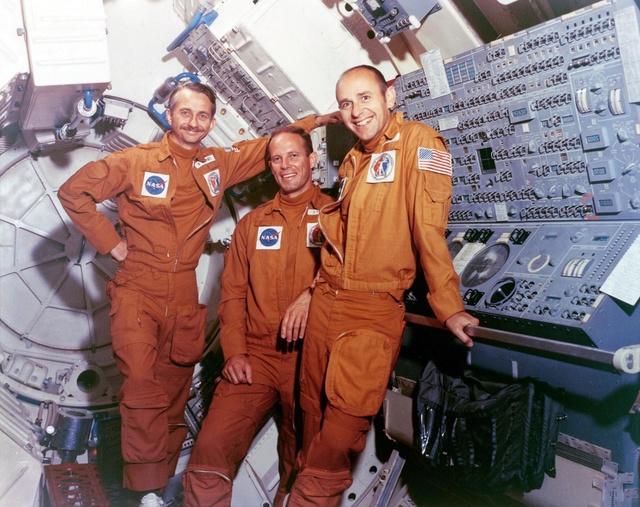 Disparition de l'astronaute Alan Bean (1932-2018), 4ème homme à marcher sur la Lune Skylab10