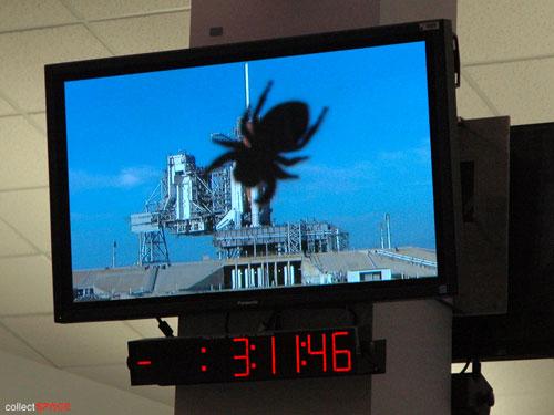 10ème anniversaire du module européen Columbus - 7 février 2008 Sts-1212