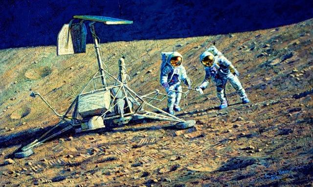 Disparition de l'astronaute Alan Bean (1932-2018), 4ème homme à marcher sur la Lune Survey10