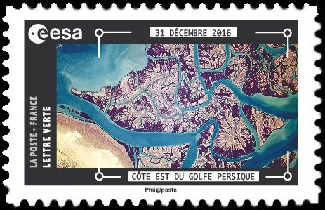Carnet de timbres Thomas Pesquet - 4 juin 2018 Tp1010