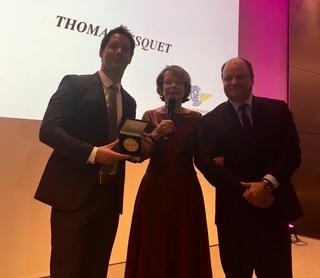 La Grande Médaille d'or de l'Aéro-Club de France et les astronautes / Thomas Pesquet honoré Tp_110