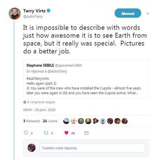 L'astronaute Terry Virts et Space Quotes - Souvenirs d'espace sur Twitter Virts_11