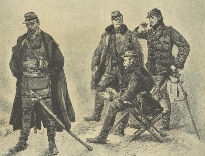 officier français second empire D10