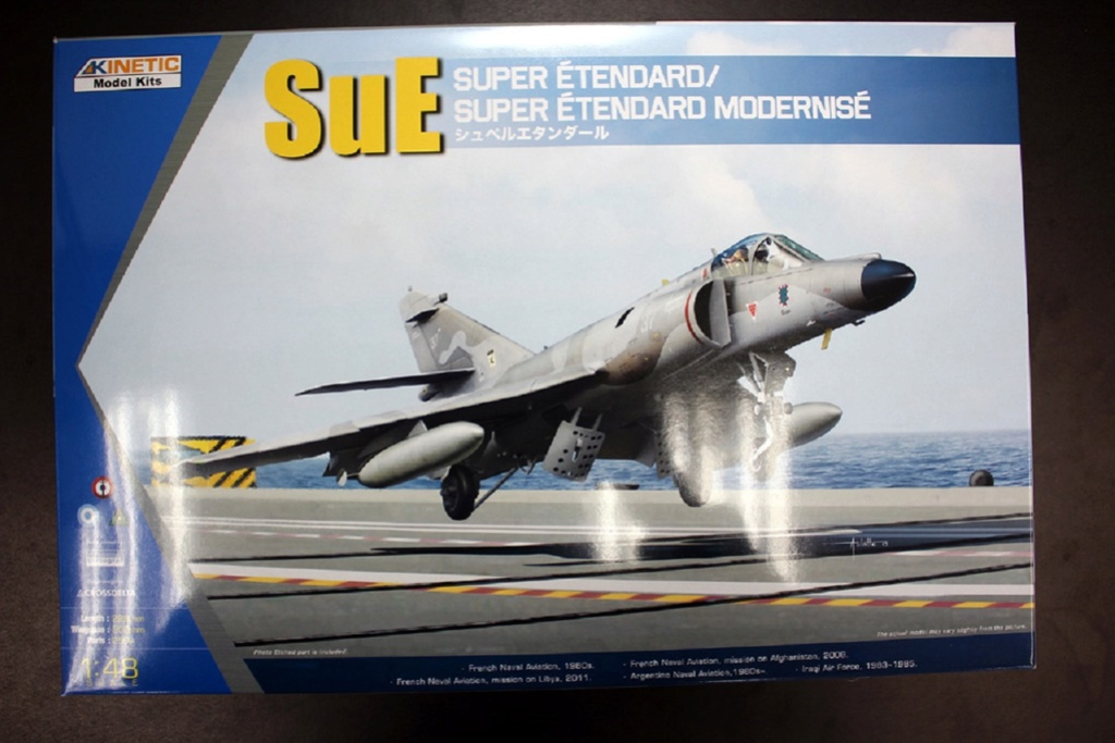 Super Étendard / Super Étendard Modernisé 1/48 (Kinetic K48061)  0012