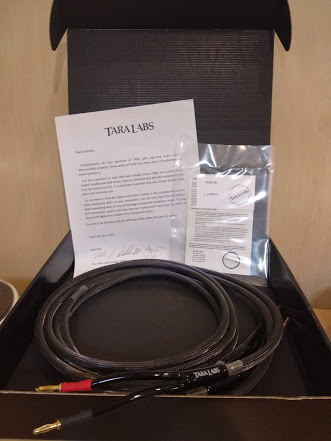 TARALABS TL – 2/14 SPEAKER CABLES (Used) Reduced Img_2015