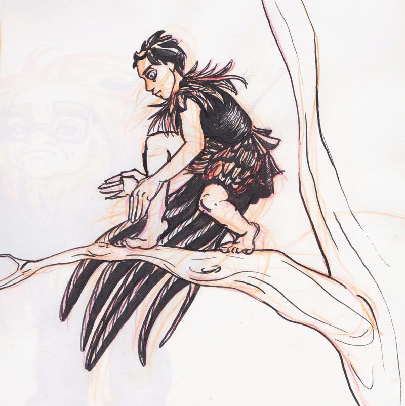 [Réminiscence] Inktober anthropomorphe Numeir46