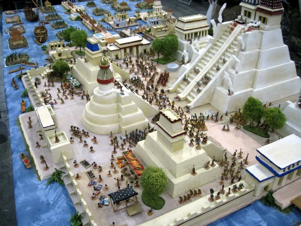 Siège de Tenochtitlan 1521 Salut107