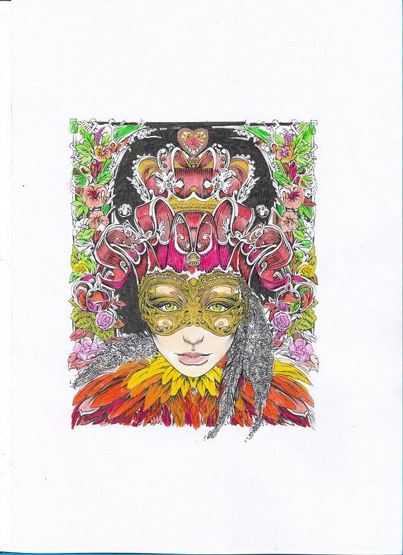 coloriage anti-stress pour adulte - Page 3 Numyr153