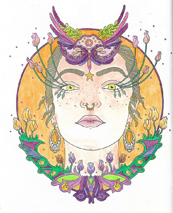 coloriage anti-stress pour adulte - Page 3 Numyr164