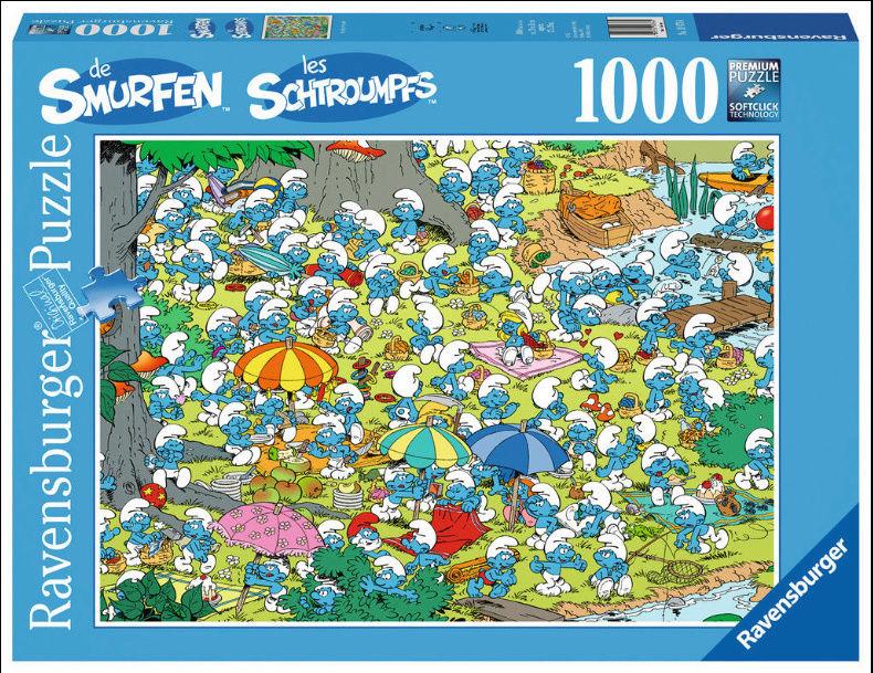 Puzzle Schtroumpf 1000_s10