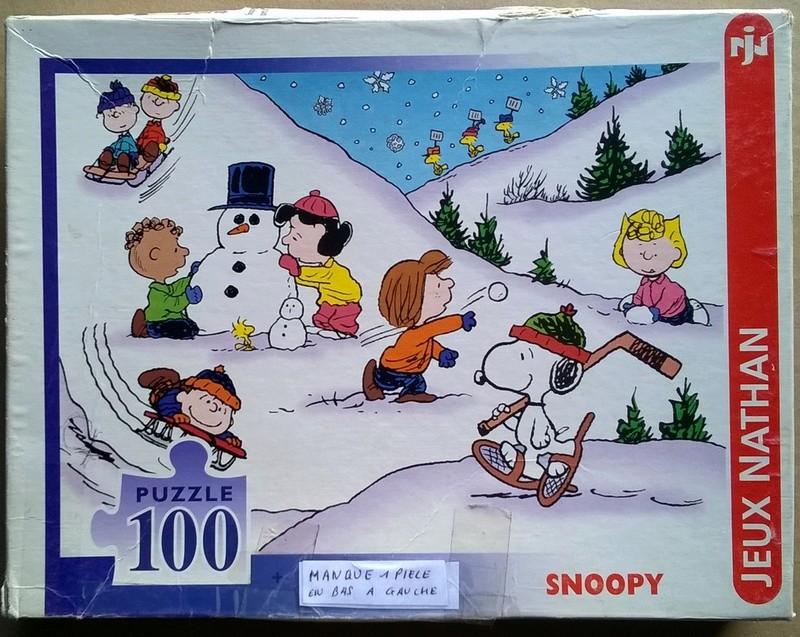 Les acquisitions de PuzzlesBD Snoopy18
