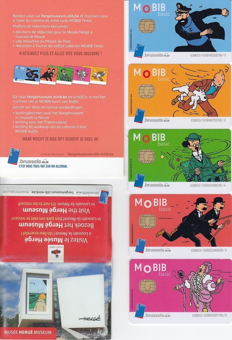 Bruxelles - Cartes à puce STIB Les Schtroumpfs Stib_t10