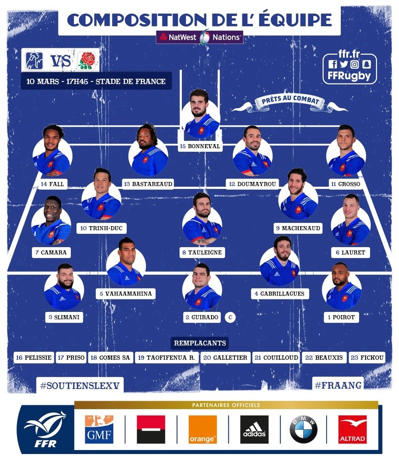 6 Nations - FRANCE v ENGLAND - 10/03/18 - MATCH THREAD - Page 3 Img_2010