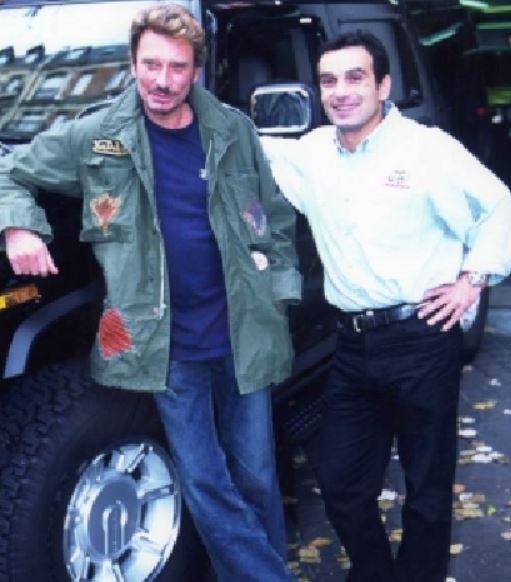 Clin d'oeil pour Johnny Hallyday et le Hummer ; RIP Captur10