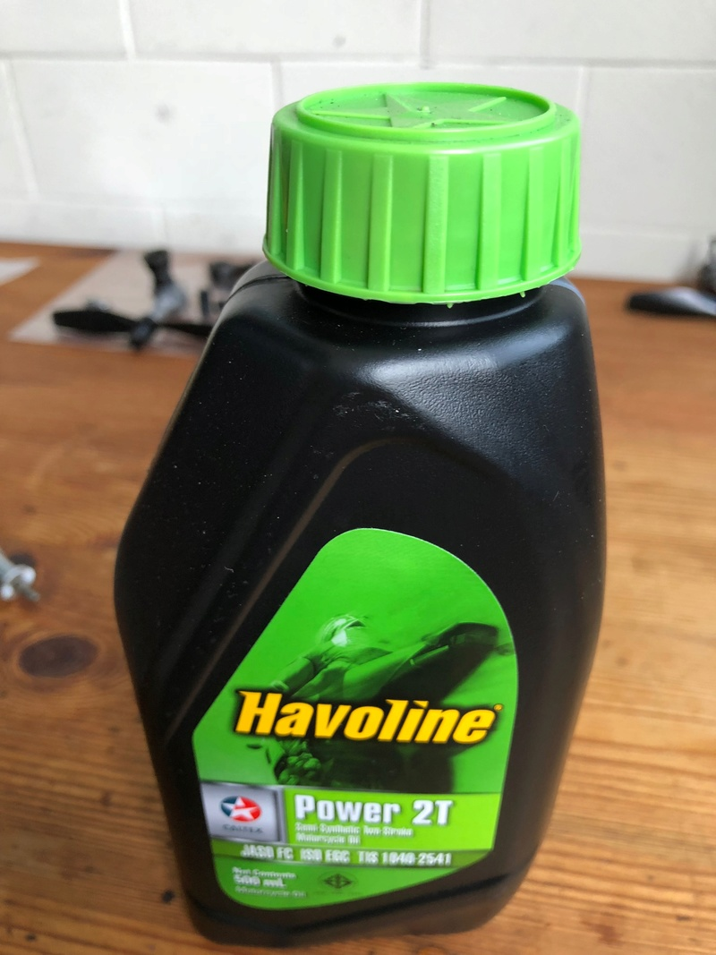 Havoline 2T as after run oil? Img_2821