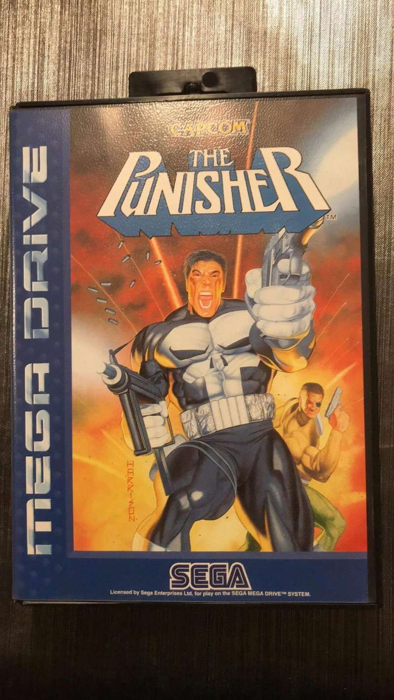 Avis sur un jeu megadrive (the punisher )  7dfb1a10