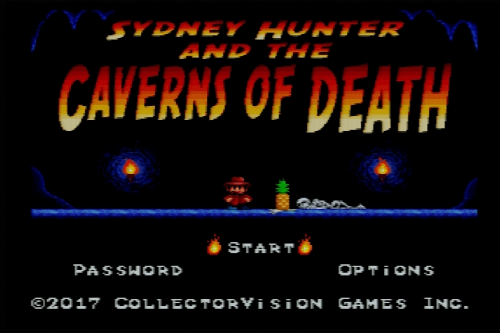[SNES] Sydney Hunter & The Caverns Of Death, la review 2018-051