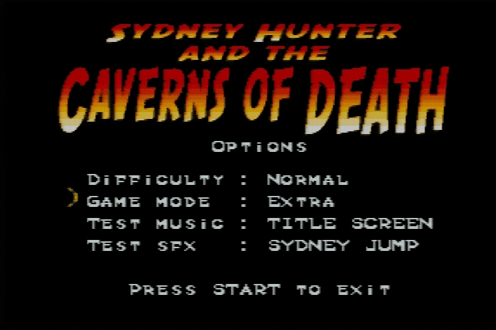 [SNES] Sydney Hunter & The Caverns Of Death, la review 2018-053