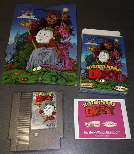 [NES] Mystery World Dizzy, la review 513