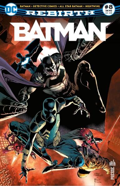Batman Rebirth 8 janvier 2018 Batman13