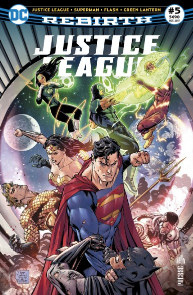 Justice League Rebirth 5 octobre 2017 Justic10