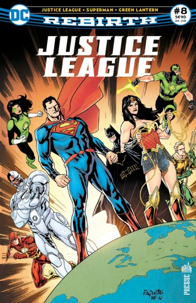 Justice League Rebirth 8 janvier 2018 Justic16