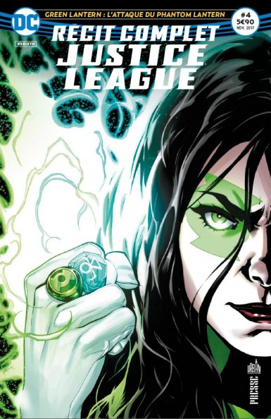 Recit complet Justice League rebirth 4 green lanterns 11/17 Recit-11