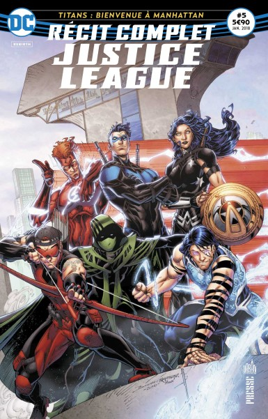 Recit complet Justice League rebirth 5 janvier 2018 Recit-14