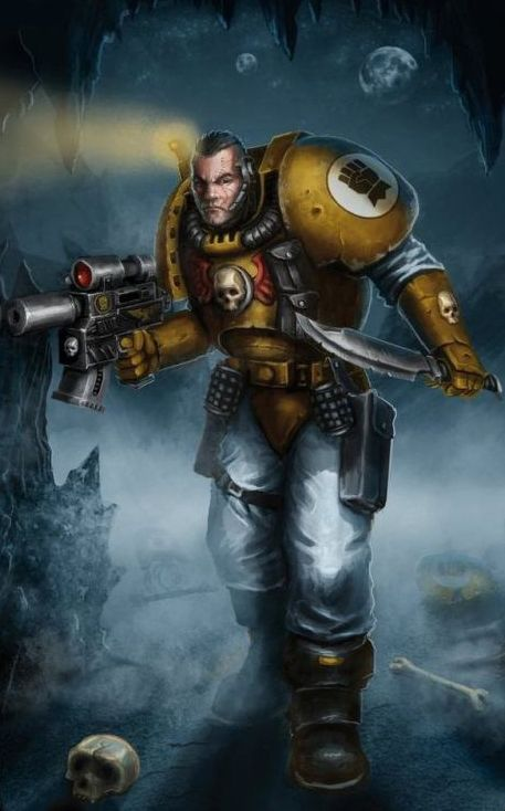 [W40K] Collection d'images : Space Marines - Page 23 Scout_10