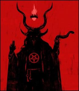 Livre des enfers Satan11