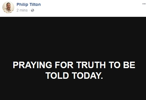 Philip Tilton thinks there is going to be an RV this week  10/23/17 2017-111