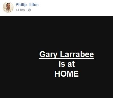 Gary Larrabee Hospitalized   1/19/18 2018-015