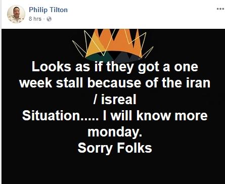 Philip Tilton - One Week Delay for RV!  5/12/18 2018-059