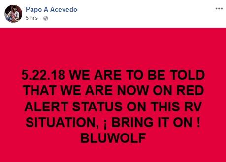 Bluewolf - RED ALERT!!!!  5/21/18 2018-062