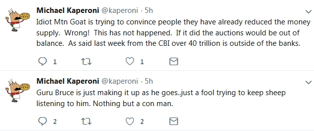 Kaperoni - Mountain Goat is an IDIOT & Bruce is a FOOL!  11/28/18 2018-132