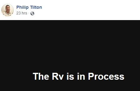 Philip Tilton - The RV is in Process!  11/28/18 2018-134