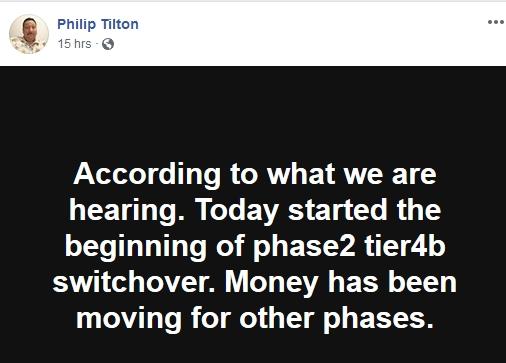 Philip Tilton - Money has been Moving!  11/29/18 2018-142