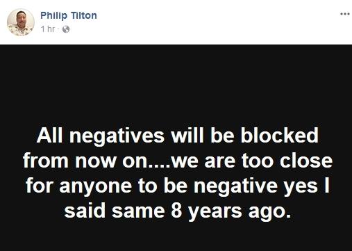 Philip Tilton ~Urgent Admiral Update~  12/21/17  **UPDATED** 210