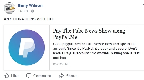"""Beny Wilson - """"The Fake News Show"""" - Time To Leave! B310"""